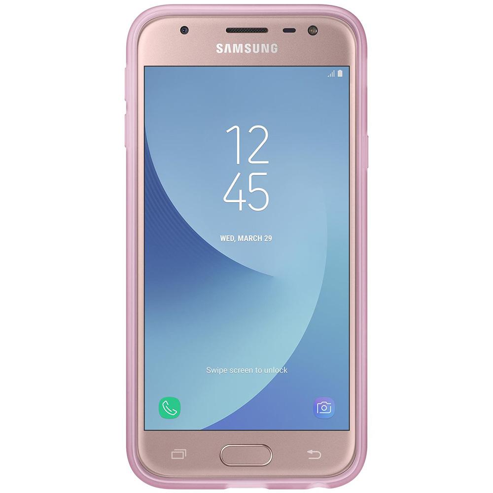 Husa Capac Spate Jelly Roz SAMSUNG Galaxy J3 2017