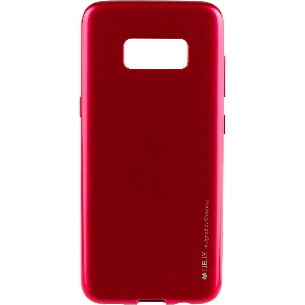 Husa Capac Spate Jelly Roz SAMSUNG Galaxy S8