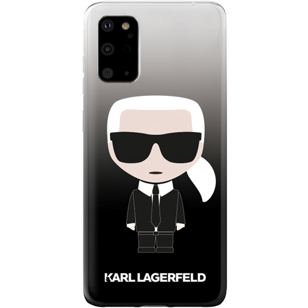 Husa Capac Spate Karl Ikonik Negru SAMSUNG Galaxy S20