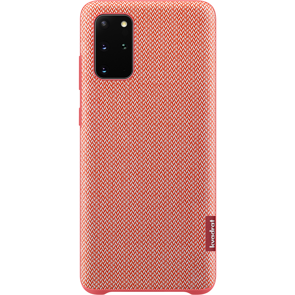Husa Capac Spate Kvadrat Rosu SAMSUNG Galaxy S20 Plus