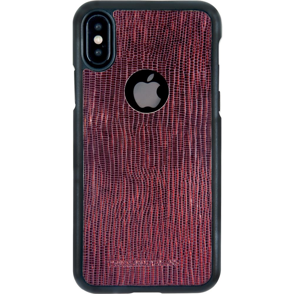 Husa Capac Spate Leather Rosu APPLE iPhone X