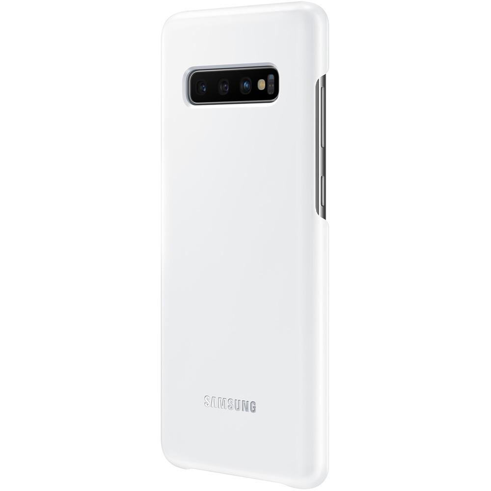 Husa Capac Spate LED Alb SAMSUNG Galaxy S10 Plus