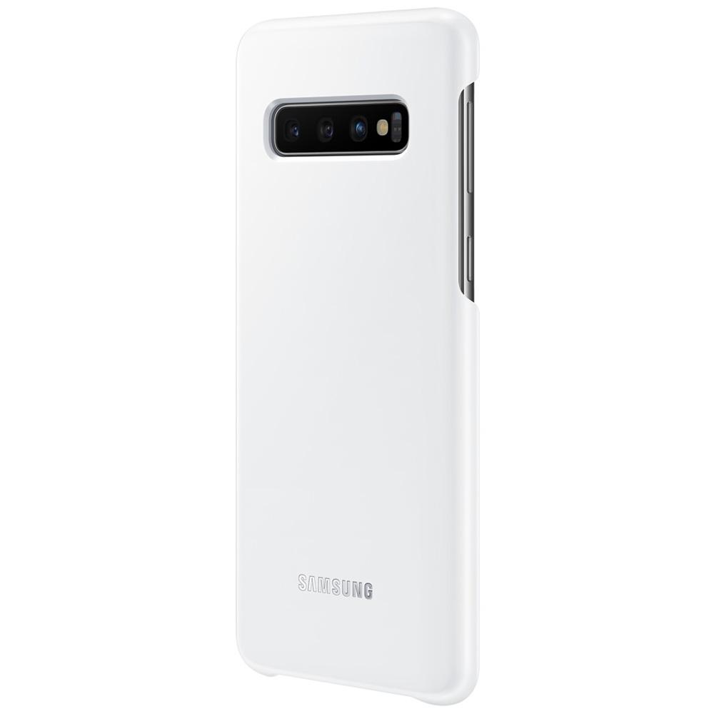 Husa Capac Spate LED Alb SAMSUNG Galaxy S10