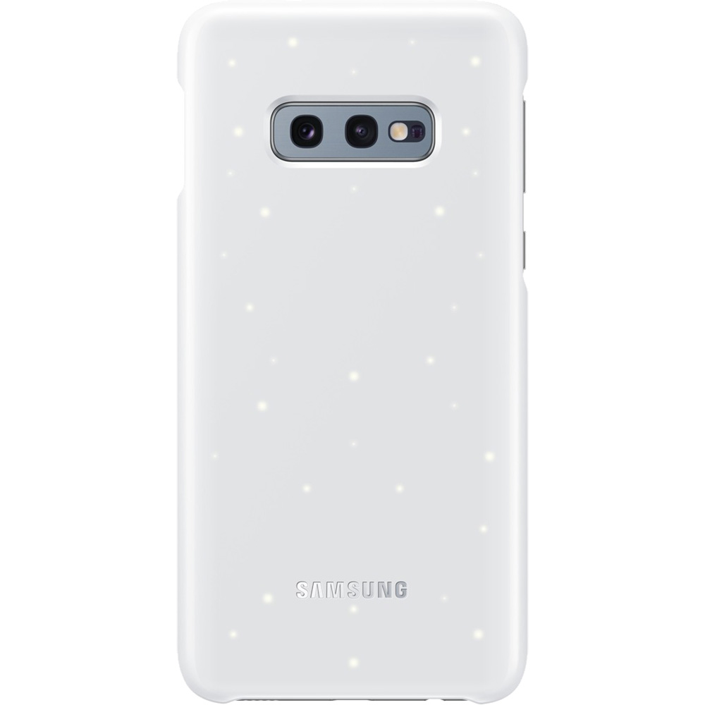 Husa Capac Spate Led Alb SAMSUNG Galaxy S10E
