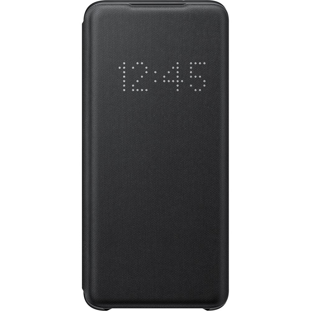 Husa Agenda LED View Negru SAMSUNG Galaxy S20
