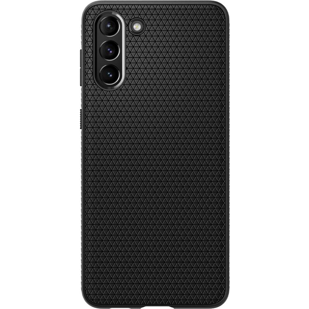 Husa Capac Spate Liquid Air Matte Black Negru SAMSUNG Galaxy S21 Plus