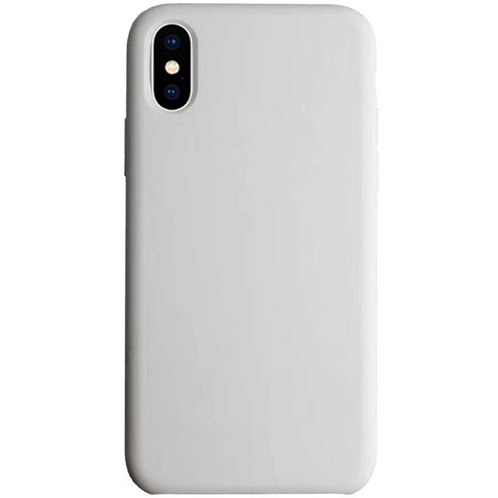 Husa Capac Spate Liquid Gri APPLE iPhone Xs Max