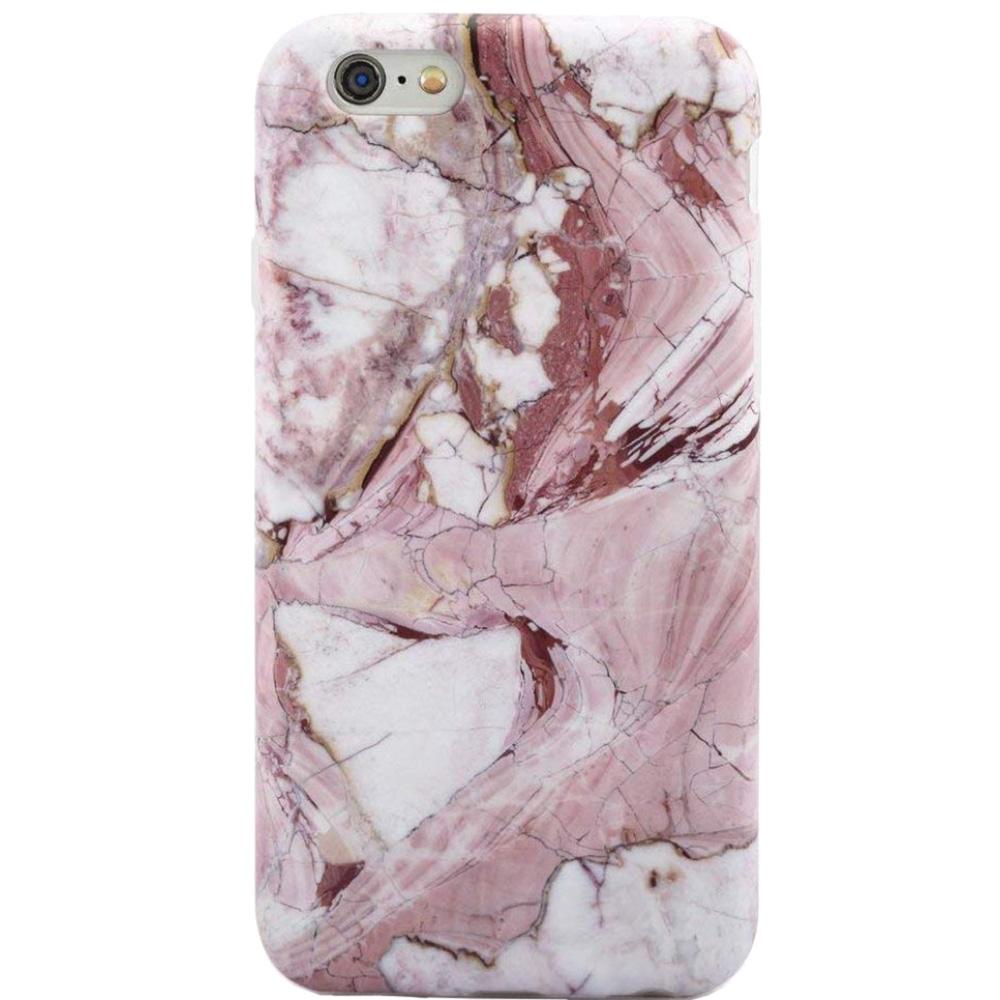 Husa Capac Spate Marble Roz APPLE iPhone 8