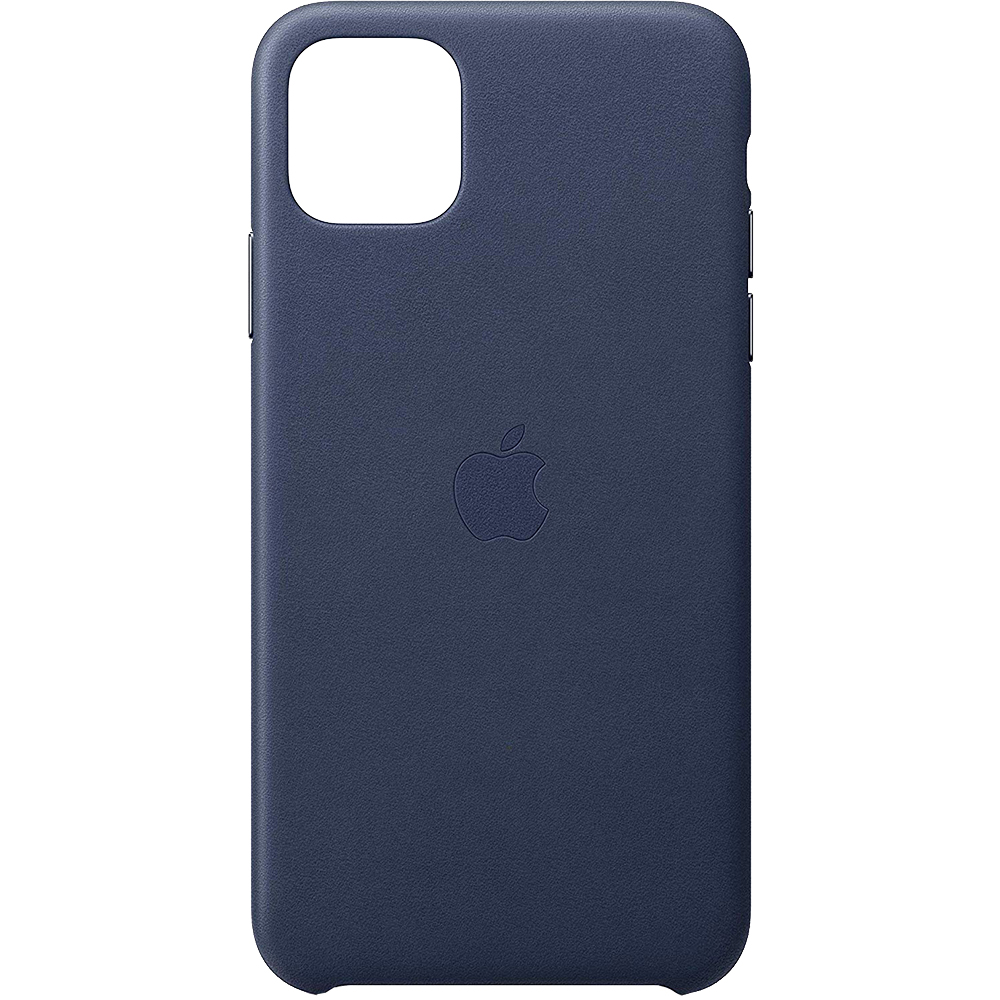 Husa Capac Spate Midnight Piele Albastru APPLE iPhone 11