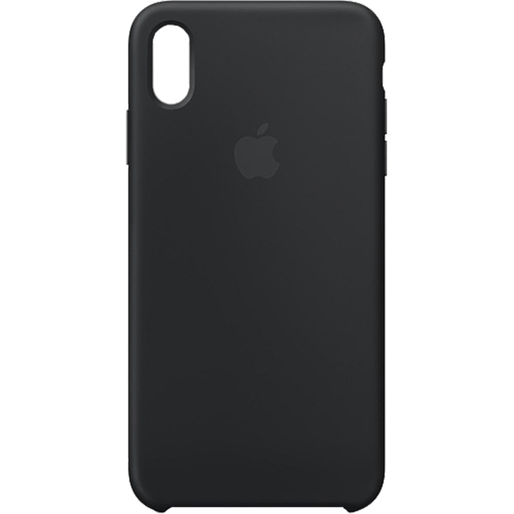 Husa originala din silicon Negru pentru Apple iPhone XR