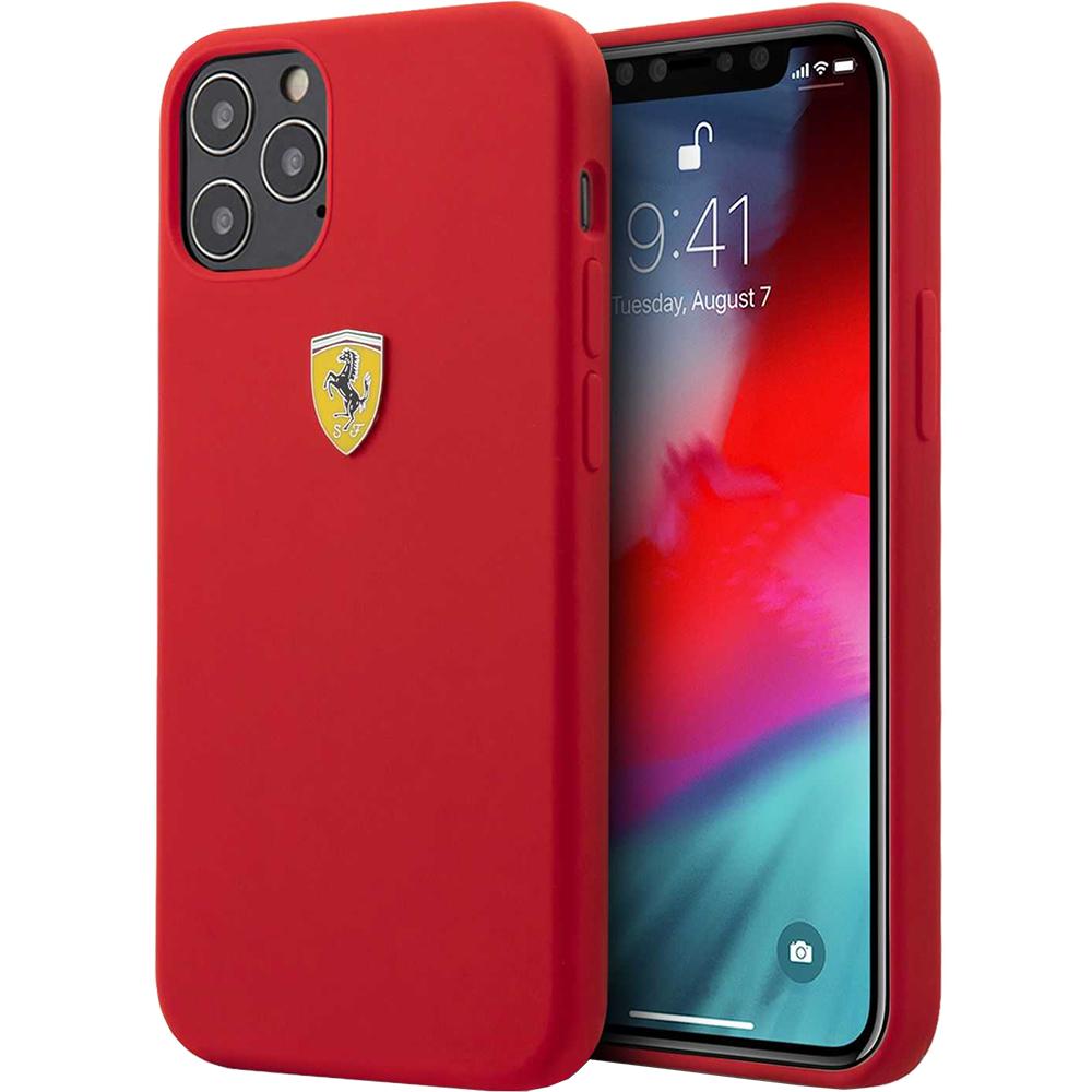 Husa Capac Spate On Track Silicon Rosu APPLE Iphone 12 Pro Max