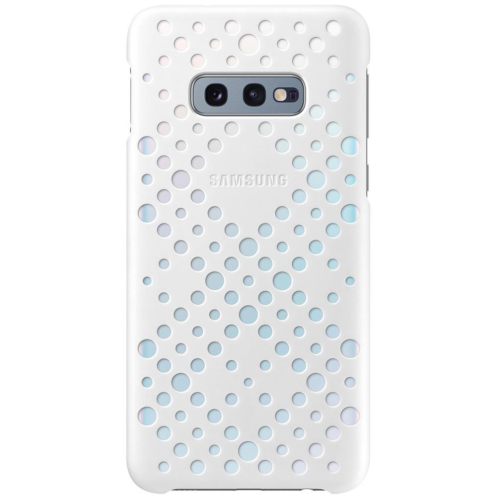 Husa Capac Spate Pattern Twin Alb SAMSUNG Galaxy S10E