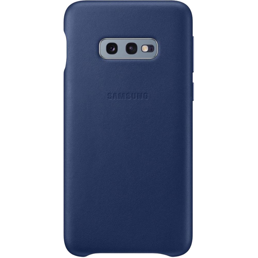 Husa Capac Spate Piele Albastru SAMSUNG Galaxy S10E