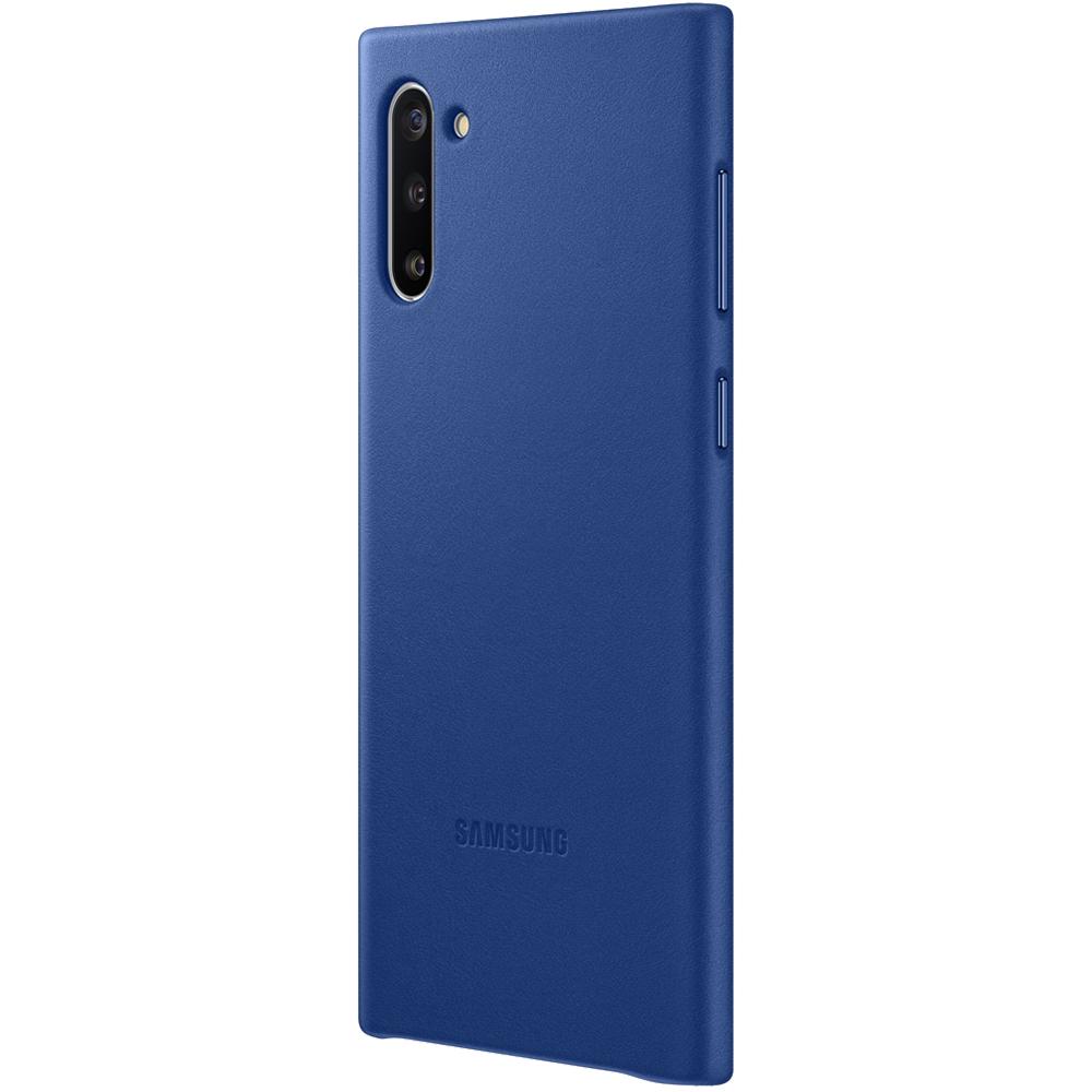 Husa Capac Spate Piele Albastru SAMSUNG Note 10