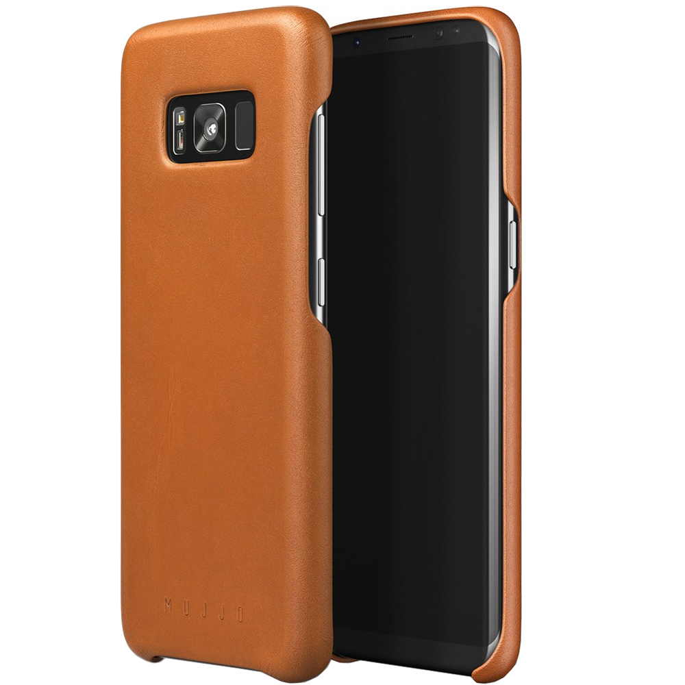Husa Capac Spate Piele Maro SAMSUNG Galaxy S8