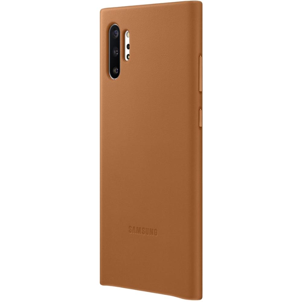 Husa Capac Spate Piele Maro SAMSUNG Note 10 Plus