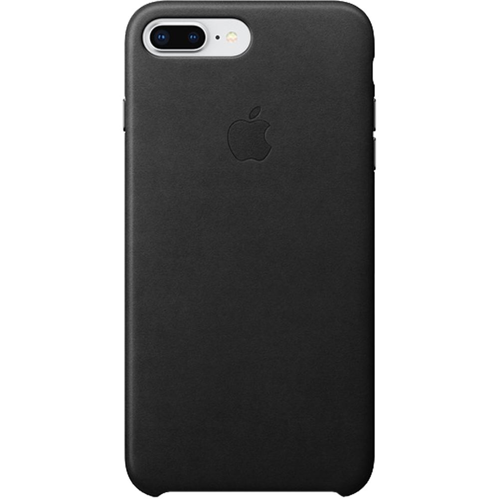 Husa Capac Spate Piele Negru APPLE iPhone 8 Plus