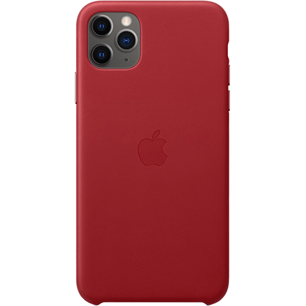 Husa Capac Spate Piele Rosu APPLE iPhone 11 Pro Max