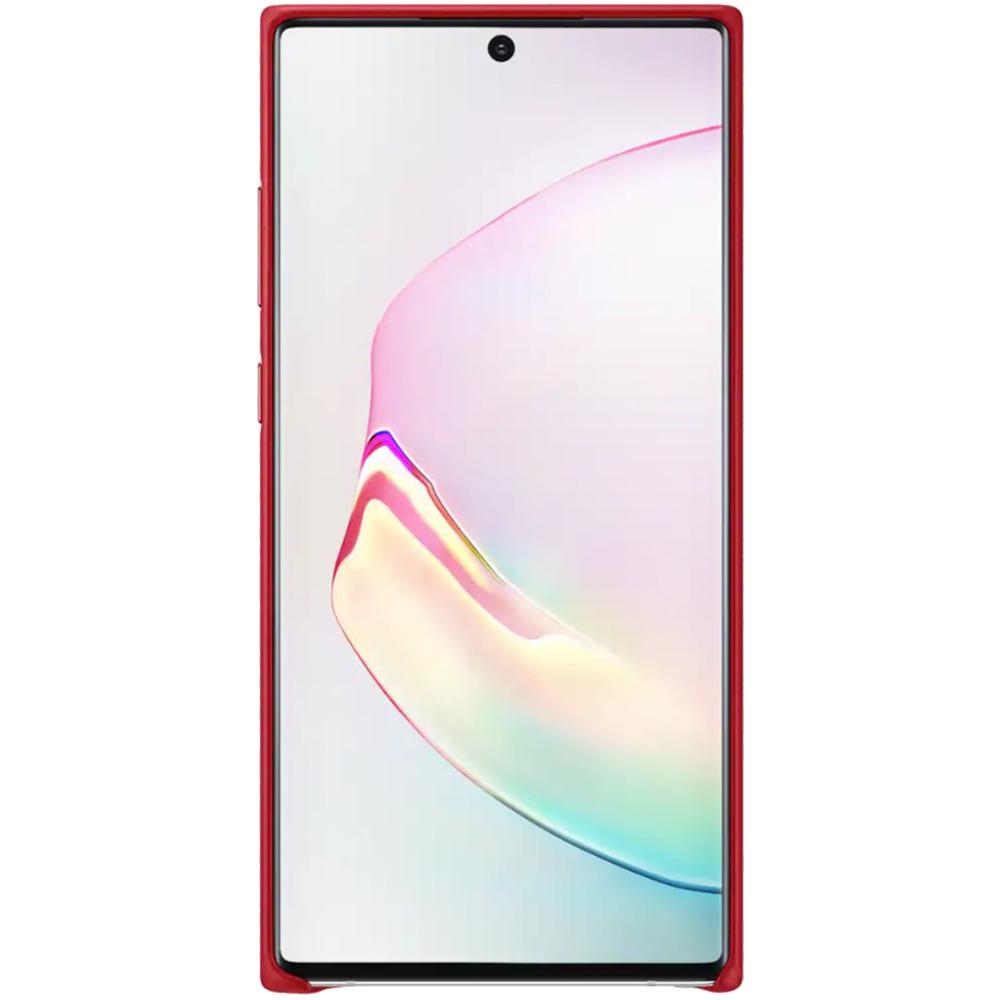 Husa Capac Spate Piele Rosu SAMSUNG Note 10 Plus