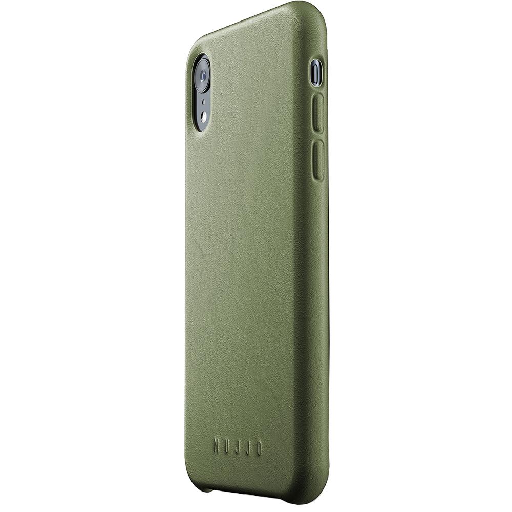 Husa Capac Spate Piele Verde APPLE iPhone XR