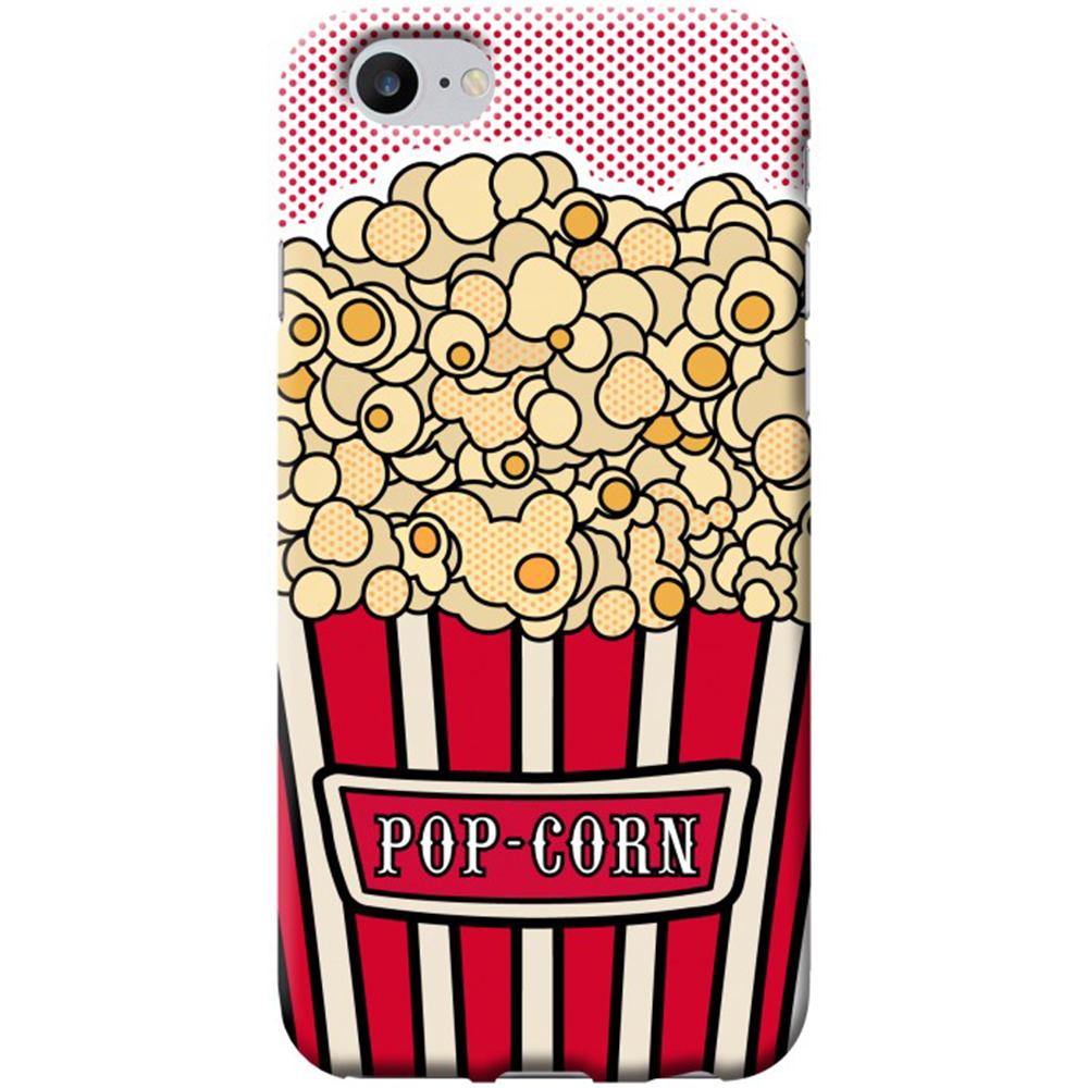 Husa Capac Spate Pop Corn Apple iPhone 7, iPhone 8