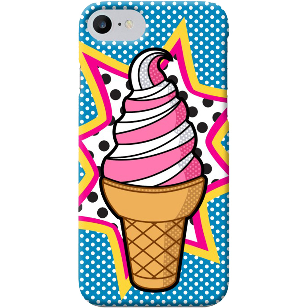 Husa Capac Spate Pop Ice Apple iPhone 7, iPhone 8