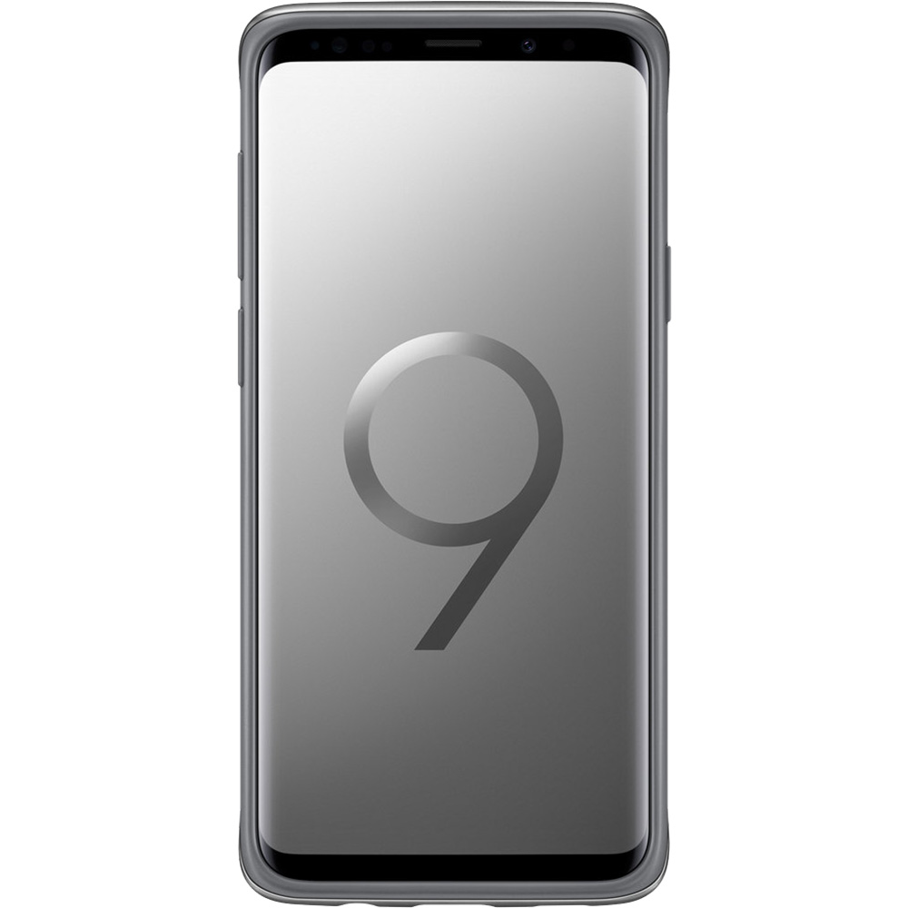Husa Capac Spate Protective Standing Argintiu SAMSUNG Galaxy S9 Plus