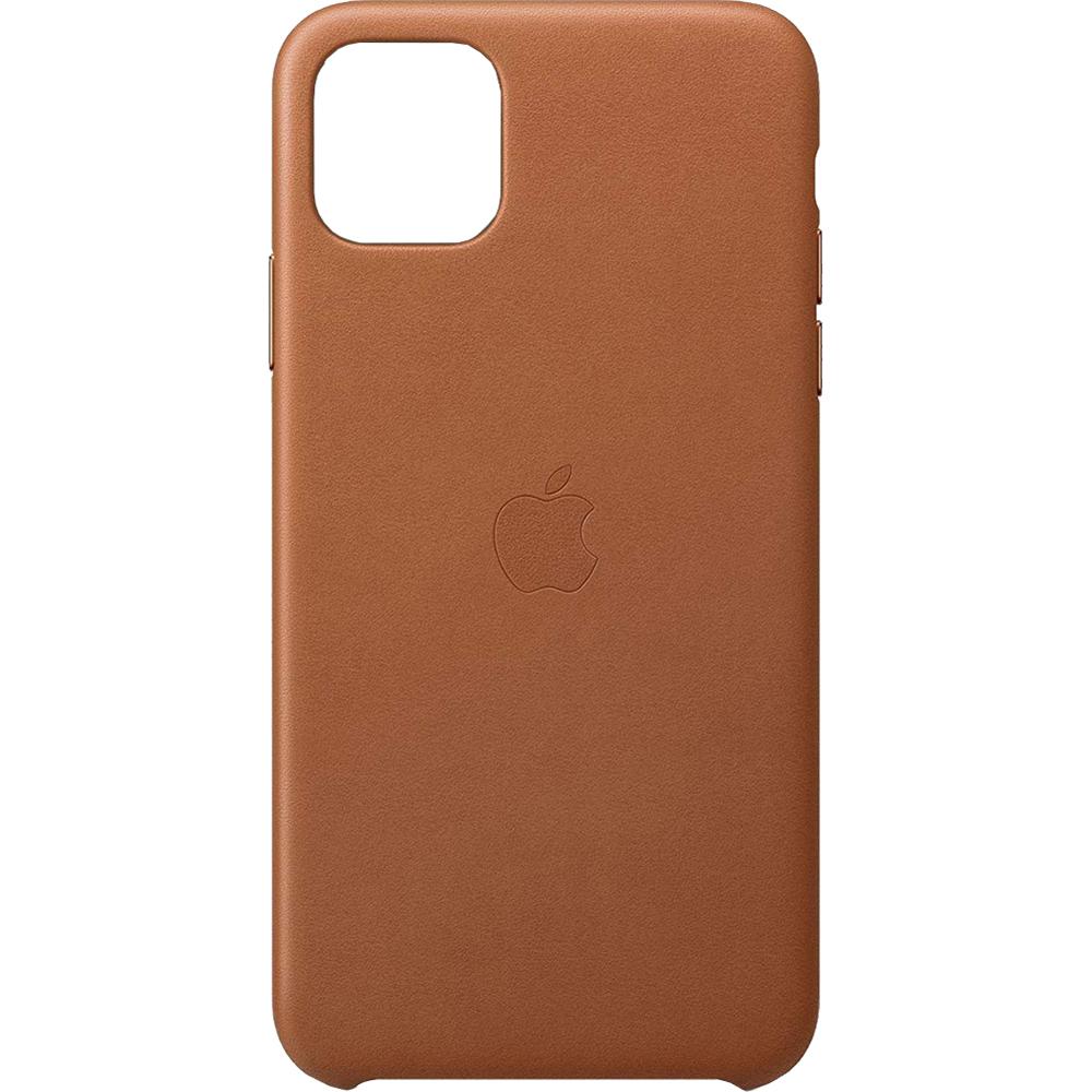 Husa Capac Spate Saddle Piele Maro APPLE iPhone 11