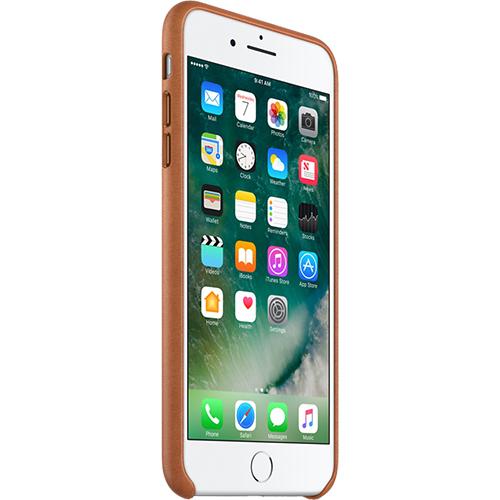 Husa Capac spate Saddle Piele Maro Apple iPhone 7 Plus