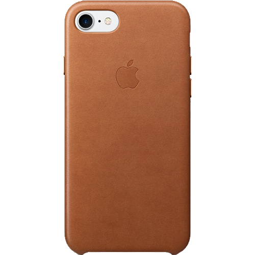 Husa Capac Spate Saddle Piele Maro Apple iPhone 7, iPhone 8