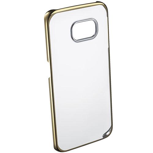 Husa Capac spate Crystal Rigid Auriu SAMSUNG Galaxy S6 Edge