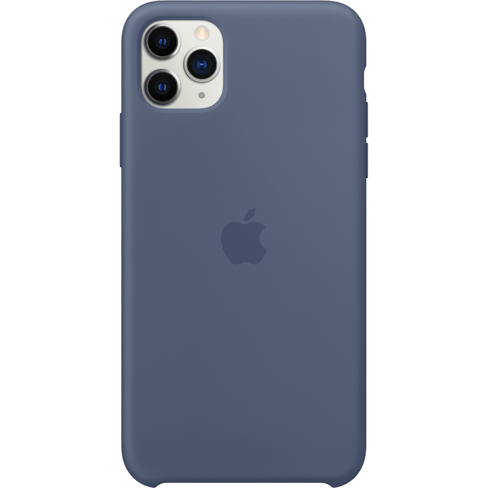 Husa originala din Silicon Alaskan Albastru APPLE iPhone 11 Pro Max