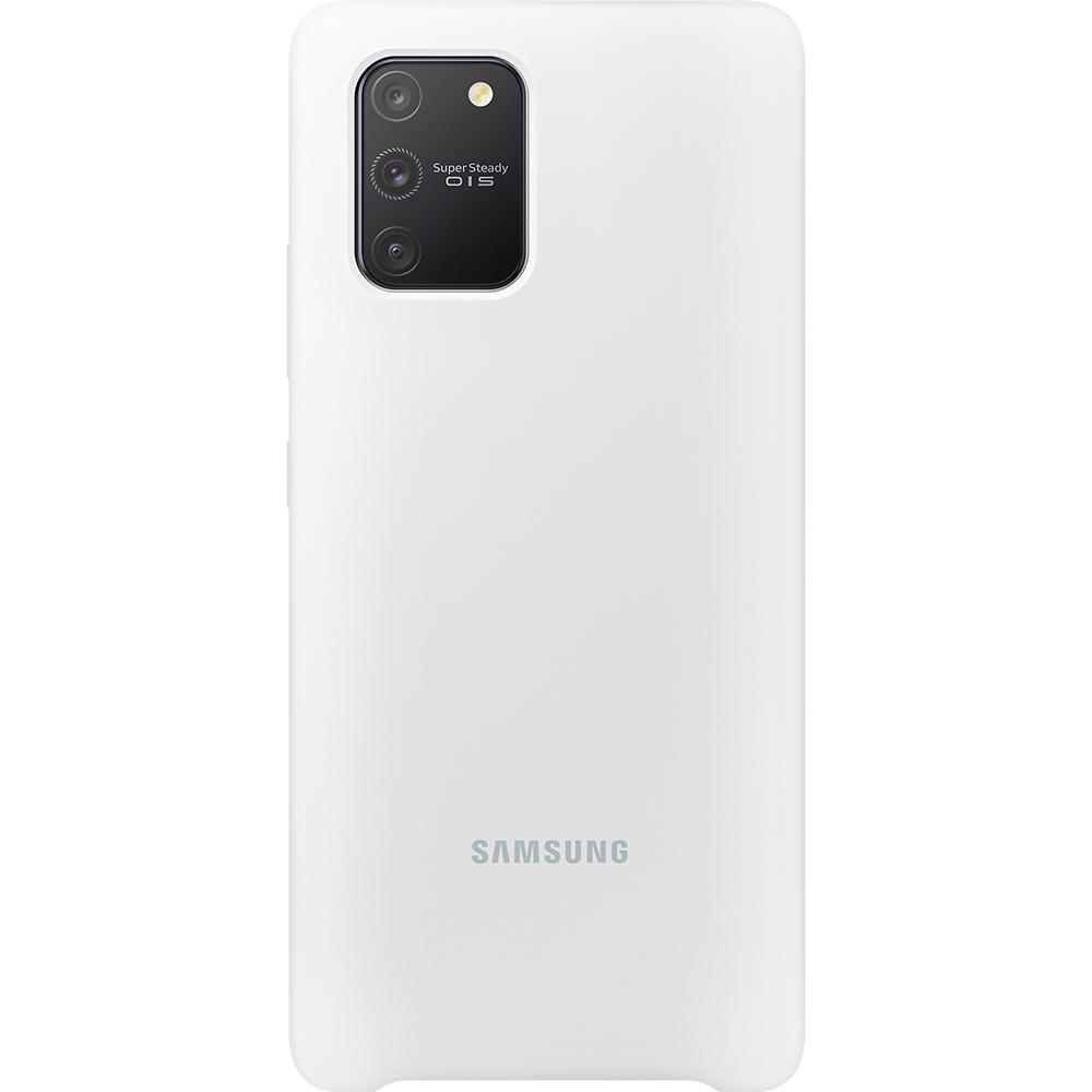 Husa Capac Spate Silicon Alb SAMSUNG Galaxy S10 Lite