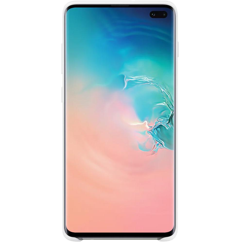 Husa Capac Spate Silicon Alb SAMSUNG Galaxy S10 Plus
