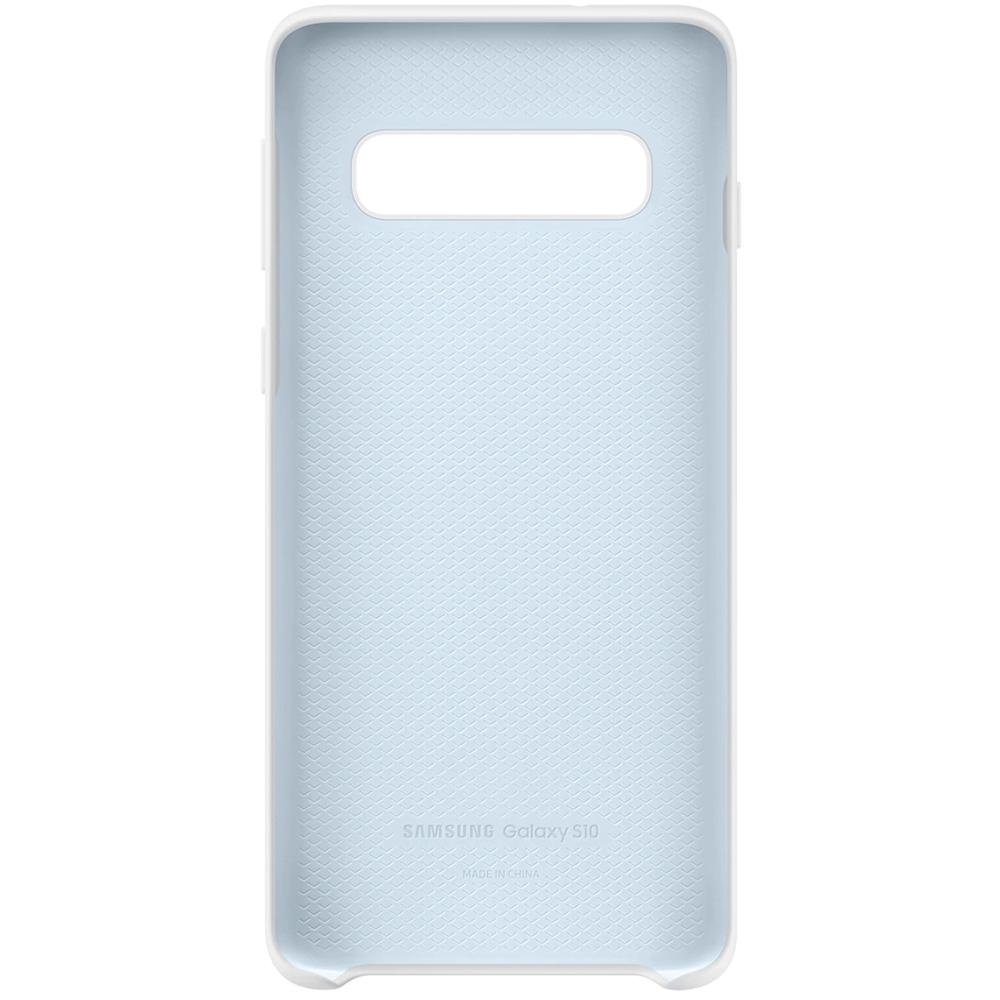 Husa Capac Spate Silicon Alb SAMSUNG Galaxy S10