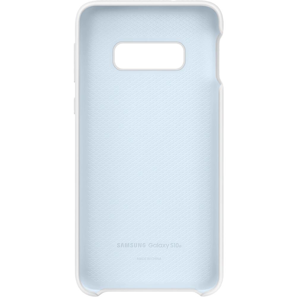 Husa Capac Spate Silicon Alb SAMSUNG Galaxy S10E