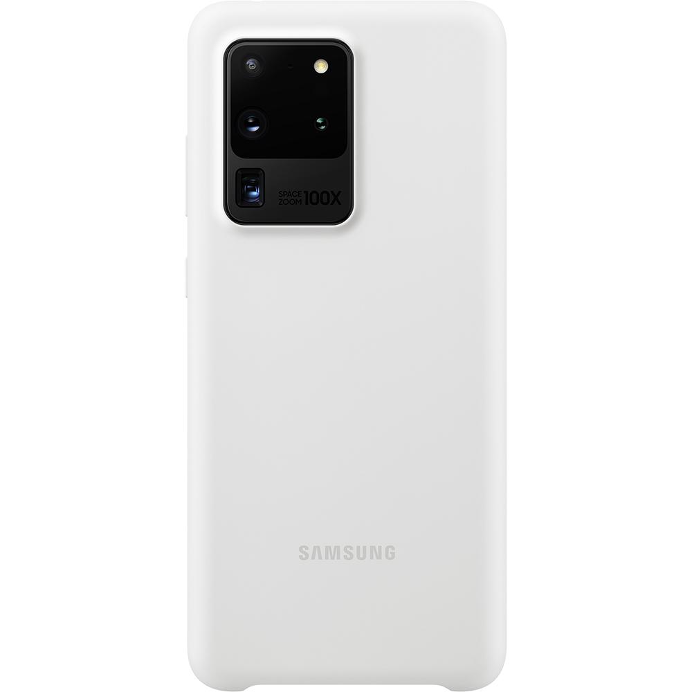Husa Capac Spate Silicon Alb SAMSUNG Galaxy S20 Ultra