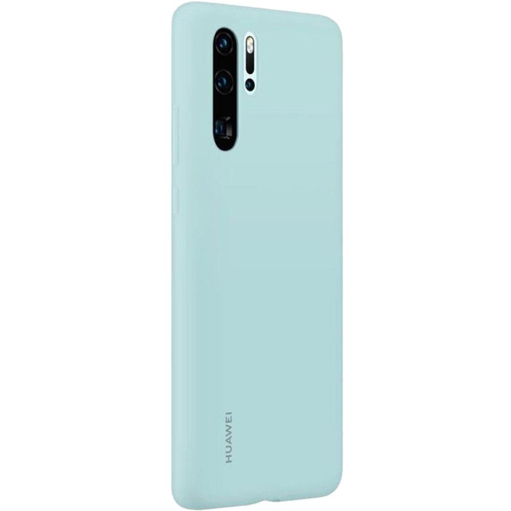 Husa Capac Spate Silicon Albastru HUAWEI P30 Pro