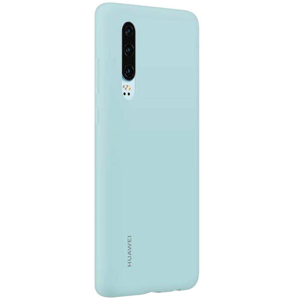 Husa Capac Spate Silicon Albastru HUAWEI P30