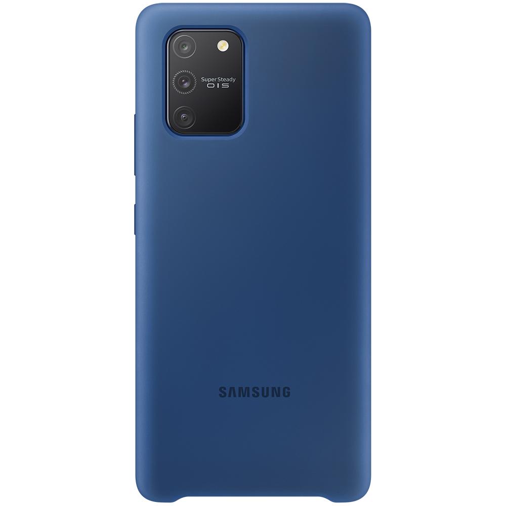 Husa Capac Spate Silicon Albastru SAMSUNG Galaxy S10 Lite