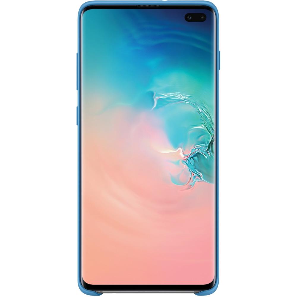 Husa Capac Spate Silicon Albastru SAMSUNG Galaxy S10 Plus