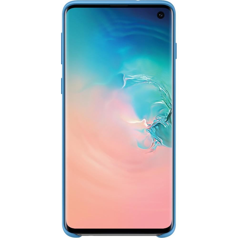 Husa Capac Spate Silicon Albastru SAMSUNG Galaxy S10