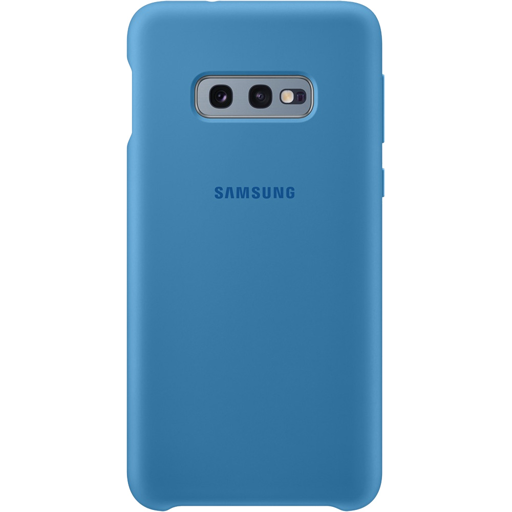 Husa Capac Spate Silicon Albastru SAMSUNG Galaxy S10E
