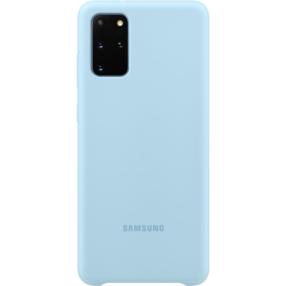 Husa Capac Spate Silicon Albastru SAMSUNG Galaxy S20 Plus