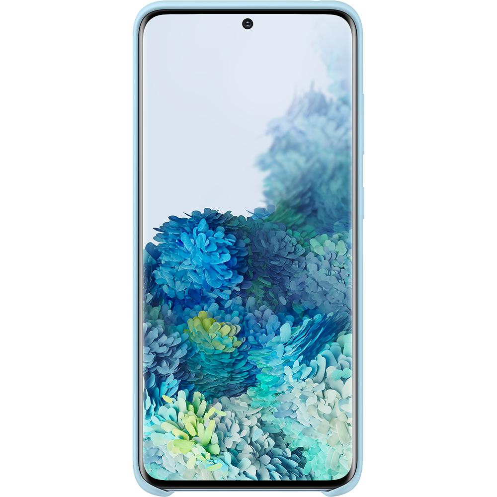 Husa Capac Spate Silicon Albastru SAMSUNG Galaxy S20