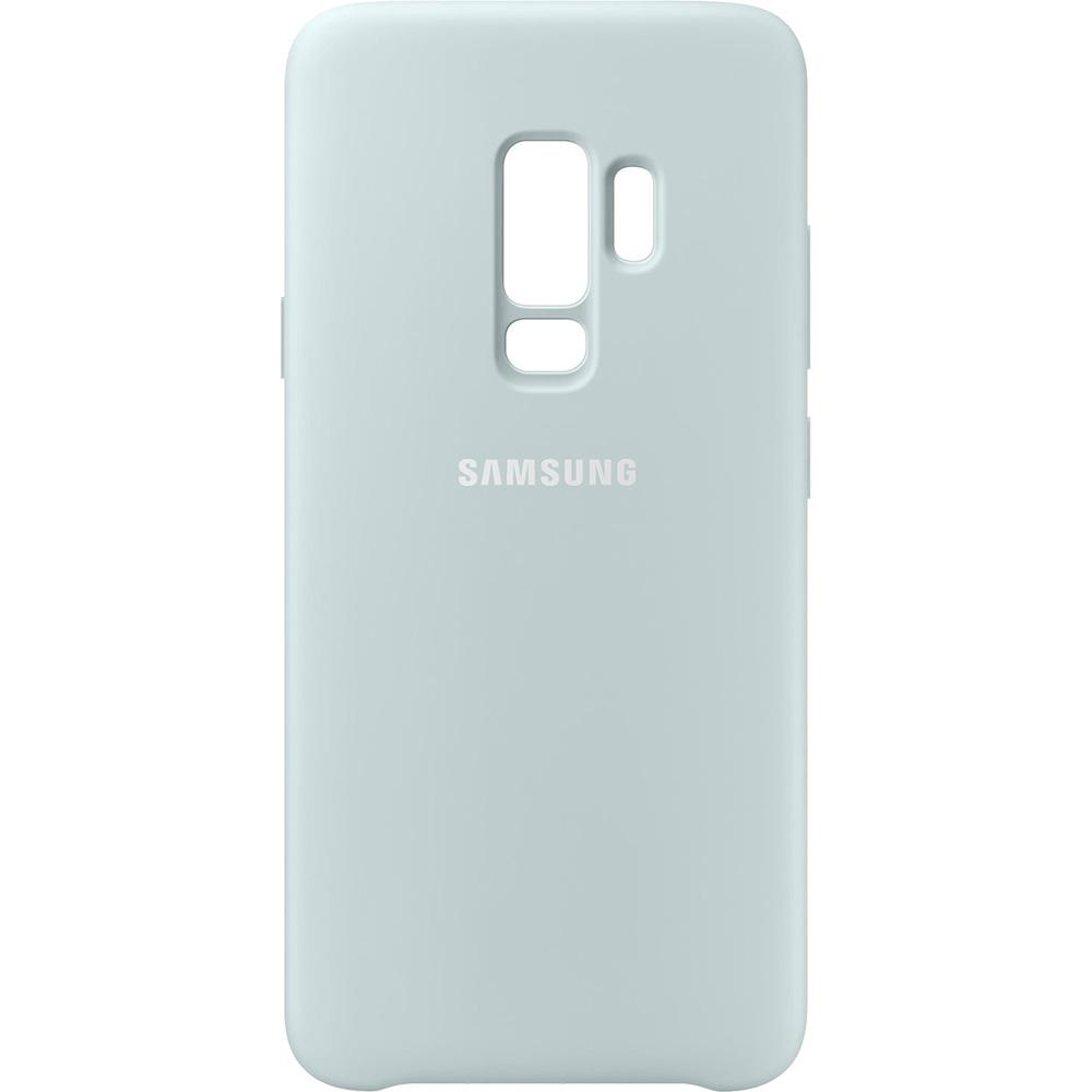 Husa Capac Spate Silicon Albastru SAMSUNG Galaxy S9 Plus