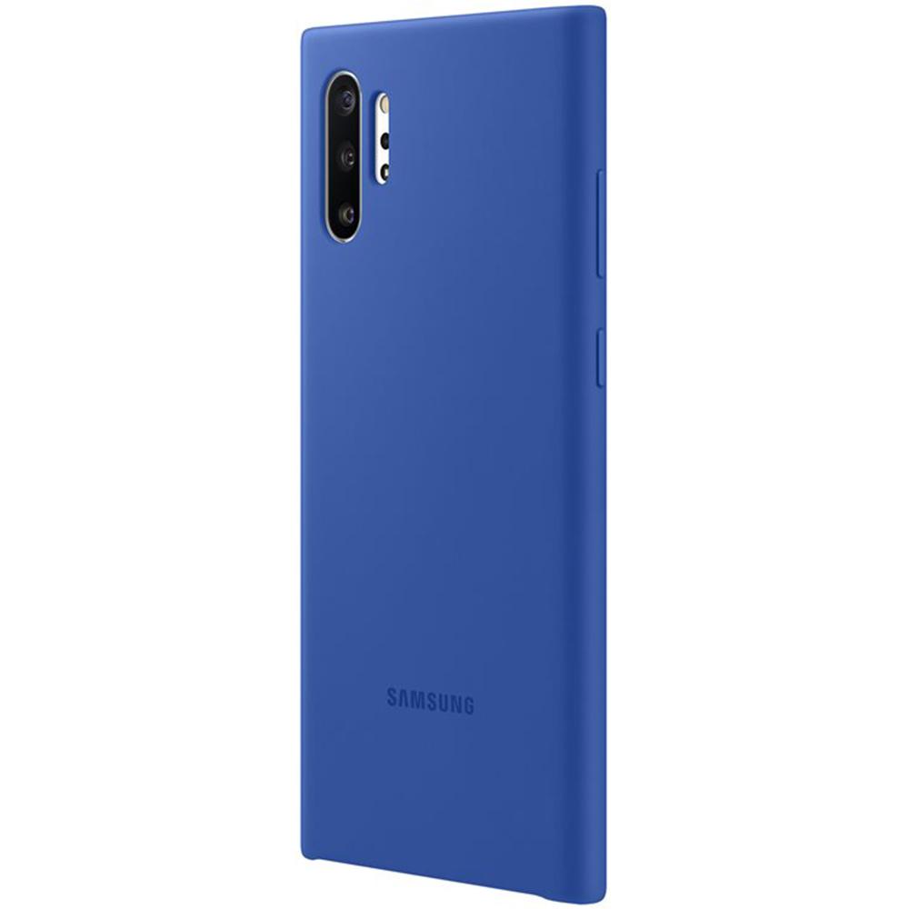 Husa Capac Spate Silicon Albastru SAMSUNG Note 10 Plus