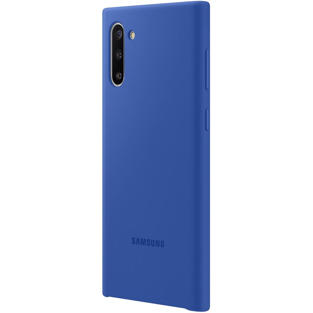 Husa Capac Spate Silicon Albastru SAMSUNG Note 10