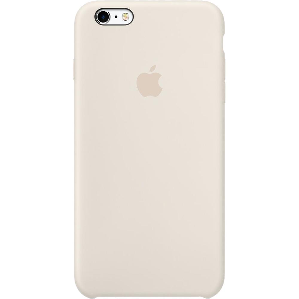 Husa originala din Silicon Antique Alb pentru Apple iPhone 6 Plus si iPhone 6s Plus