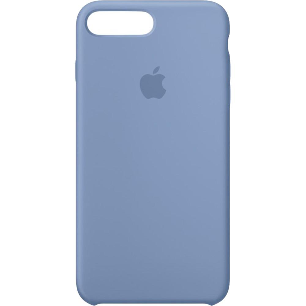 Husa Capac Spate Silicon Azure Albastru Apple iPhone 7 Plus, iPhone 8 Plus